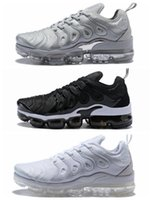 Wholesale light up fashion - 2018 Vapormax Tn with box TN Plus VM Olive Run In Metallic men running shoes best qualtiy sneaker fashion trainer