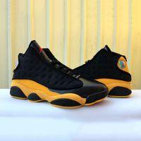 basketbol ayakkabıları melo toptan satış-Sıcak Satış 13 Melo Sınıfı 2003 Erkekler Basketbol Ayakkabı 13 s Ayakkabı Sarı Siyah Açık Rahat Atletik Spor Sneakers Boyutu 41-47