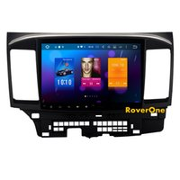 ingrosso schermo lancer-Per Mitsubishi Lancer 10 EVO GaLant Fortis Ispira X Android 6.0 Octa Core Autoradio Autoradio Navigazione GPS Stereo Sistema multimediale