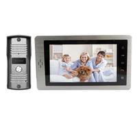дверной звонок с сенсорным экраном оптовых-Free Shipping  New Wired 7