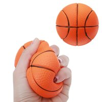 Wholesale volleyball toys resale online - Soccer Football Squishy Toys Baseball Basketball Volleyball Slow Rising Jumbo Squeeze Phone Charms Cream Bread Stress Reliever Gift