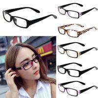 простые пленки оптовых-Unisex Fancy Radiation Protection Glasses Computer Eyeglasses Frame anti-fatigue goggles Blue Film Anti-UV Plain Mirror