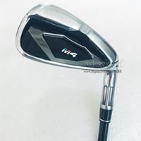 Wholesale graphite shaft regular flex - 2018 New TM M4 Golf Irons Set 4-9PSw(8PCS) M4 Golf irons Regular Stiff Flex Graphite or Steel Shaft Golf Clubs Free shipping