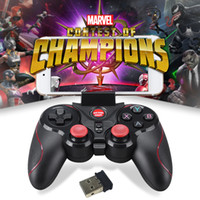 Wholesale ios bluetooth game controller - GEN GAME S5 Wireless Bluetooth game joystick android gamepad  mAh for Android ios Smartphone PC controller