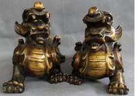 ingrosso leone cinese in bronzo-10