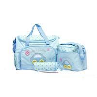 сумочки оптовых-Мумия пеленки отдельная сумка материнства подгузник сумка Baby Tote организатор многофункциональный водонепроницаемый Pad бутылка сумка для хранения C5328