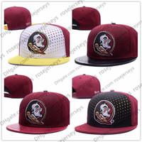 949e79572db81 Wholesale order hats for sale - NCAA Florida State Seminoles Caps New  College Adjustable Hats FSU
