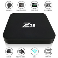 Wholesale Z28 Android TV Box RK3328 Quad Core Bit G G G G H UHD K VP9 HDR D Mini PC WiFi EU US Plug
