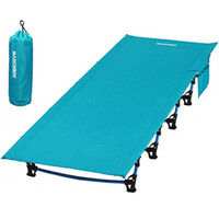 Wholesale beds cot for sale - Group buy Ultralight Folding Tent Camping Cot Bed Portable Compact for Outdoor Travel Base Camp Hiking Mountaineering New Arrivals