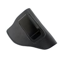 Wholesale Plastic Revolver - Ultimate Leather IWB Holster for Right Hand Fits Most J Frame .38 Special Revolvers Ruger LCR Smith Wesson Body Guard Taurus