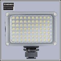 ingrosso yongnuo-Fotocamera Flash Studio video Lampada 70 LED luce video YONGNUO YN-0906II per fotocamere Canon Nikon DSLR 2 colori