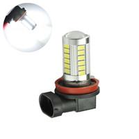 Wholesale h11 led bright white bulbs for sale - DC v Super Bright White H11 SMD led car auto head DRL Fog light lamp bulb