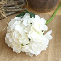Wholesale Artificial flowers cheap Silk hydrangea Bride bouquet wedding home new Year decoration accessories for vase flower arrangement