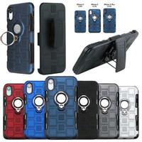 ingrosso custodie di alta qualità-Per iPhone XR Xs Max X 8 7 Plus. Porta difensore magnetico Custodia per cintura con fondina per PC Magnetica di alta qualità