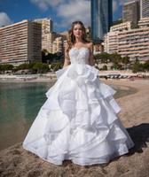 tamanho da tampa da chave venda por atacado-Encantador Lace White Scoop Applique Beads A Linha de Vestidos de Noiva Nupcial Pageant Vestidos Vestidos de Casamento Vestidos Tamanho Personalizado 2-16 ZW712184