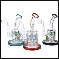 Wholesale dab nail female for sale - glass bong oil rig MM thickness banger nail glass bongs female joint MM bubbler dab rig