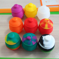 Wholesale cover honey - 35ml 55*45MM Honey Pot Silicone Oil Containers Wax Jars Gadgets for Bong Pipe Vape Dry Herb Vaporizer Smok Tools Kitchen Accessories