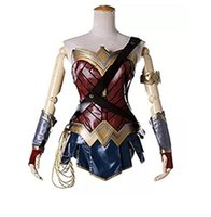 ingrosso wonder woman costume-22017 nuovo Wonder Woman Diana cosplay movie star show gonna donna attillata evento di Halloween gioco di danza puntelli di prestazioni