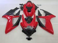 Wholesale k6 kit for sale - Group buy 100 Injection molding Black red ALSTARE corona fairing kit for SUZUKI GSXR K6 GSXR600 GSXR750 bodywork HJ88