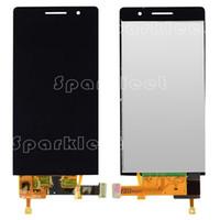 huawei telefone p6 großhandel-LCD Display Assembly für Huawei Ascend P6 mit Touchscreen Handy Ersatzteile