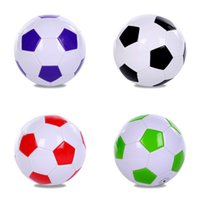 Wholesale inflatable foot - PVC Football Sports Goods Foot Ball Wear Resisting Student Gifts Multi Color Hot Sale 16 5jx C R