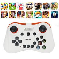 controles do jogo de pc venda por atacado-MOCUTE 056 Bluetooth Gamepad Joystick PC Sem Fio Controle remoto Game Pad para telefone caixa de tv VR