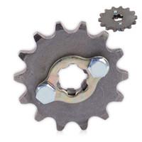 dientes de la rueda dentada al por mayor-428 10-19T Diente 17 mm del motor delantero piñones Para Taotao ATV bici del hoyo 50 90 110 125 cc motocicleta