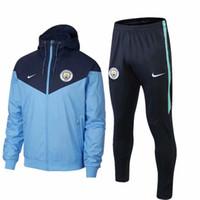 chaquetas de la nueva temporada al por mayor-nuevo 18 19 Season Man chaqueta chaqueta cortaviento PSG chándales Inter Windbreaker traje de entrenamiento MBAPPE capa de polvo