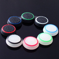 Wholesale thumb grips xbox one for sale - Group buy Double Color Thumb Stick Grip Silicon Cap Joystick Cover Case Silicon Cap for PS4 Xbox one PS3 Xbox Controller
