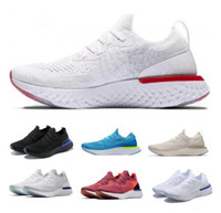 buy popular c0c82 78268 Acquista scarpe da corsa Epic React Purple Uomo Womens A1 Instant Racing  Runner Boost Fly Knit Breath Sport comodo Cina Femme Tennis Sneaker