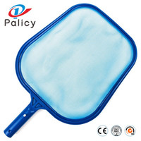 Wholesale fish ponds filter - Palicy Shallow Water Leaf Net Swimming Pool In Shallows Water Fish Pond Nets Cleaning Equipment Blue Landscape Pools 9pl gg