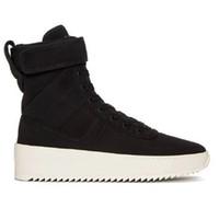 adam yağmur çizmeleri toptan satış-Erkekler Kadınlar için 2018 Marka Tasarımcı çizmeler bottines moda lüks tanrı korkusu Sis Koşu Basketbol ayakkabıları kış yağmur kar bayan Sneakers