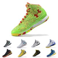 Wholesale Mvp Shoes - Under Armour UA The Moment MVP PE USA 30 Stephen Curry 1 One mens basketball shoes Sports Sneakers Cushion trainers Final On Foot designer