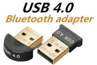 Wholesale usb bluetooth module - Usb bluetooth adapter 4.0 bluetooth audio receiver CSR4.0 bluetooth adapter supports win8 10.