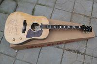 feste körpersignaturgitarre groihandel-J - 160 - e John Lennon hat das 70th Anniversary Akustikgitarrengesichtsmuster zurückgefordert