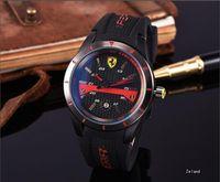 Wholesale rubber watches sports - 2018 New Fashion Dress Luxury Design Men DZWatch Casual Rubber Strap Quartz Watch Montre Clock Relojes De Marca Wristwatch Wholesale