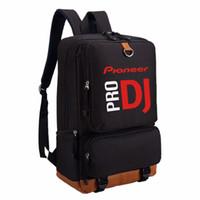 ingrosso sacchetto del gufo di stile coreano-WISHOT Pioneer DJ PRO Zaino Borsa da viaggio con tracolla Bookbag per adolescenti Borse per laptop casual