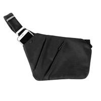 Wholesale over shoulder bag nylon for sale - Fashion Men Waterproof Crossbody bags Casual Black Chest Bags Compact Nylon Single Shoulder for Men Male Messenger