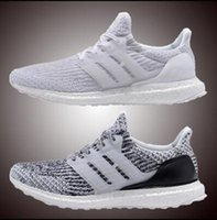 Wholesale red floors - 2018 Ultra Running Shoes 4.0 triple white black grey Men Women UB 3.0 Blue Oreo casual Shoes Sports Sneakers 36-45
