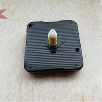 Wholesale MM Shaft Sweep Quartz Clock Movement with Gold Metal Hands Silent Repair DIY Kits