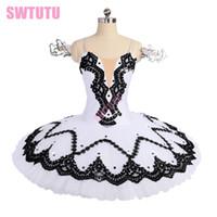 Wholesale leather ruffle skirt for sale - child Classical professional ballet tutu skirt applique ballet tutus nutcracker dance wear BT9181