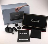 Wholesale bt sound card - Bluetooh marshall Portable Wireless Speaker stockwell Outdoor Support FM Radio Soundbar Music BT Speaker USB Charging