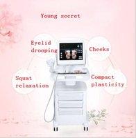 gesichtsausrüstung verkauf großhandel-Hautverjüngungs-Ultraschall-Gesichtsausrüstungshautmaschine / drahtloses hifu Facelift-Schönheitsgerät für Verkauf HIFU fokussierte Ultraschall
