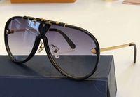 ingrosso occhiali da sole di gradiente nero del progettista-Luxury Z1059 Pilot Sunglasses Black Grey Gradient Lens Designer Occhiali da sole Nuovo con scatola