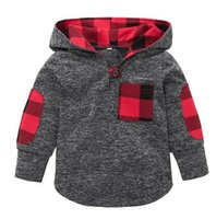 Wholesale broken flowers girl resale online - Boys and girls hooded sweater shirt T shirt broken flowers
