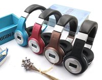 Wholesale Support For Tablets - HIFI stereo earphones bluetooth headphone music headset FM and support SD card with mic for mobile xiaomi iphone sumsamg tablet