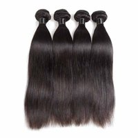 Wholesale brazilian hair styles online - 8a Malaysian Brazilian Peruvian Virgin Human Hair Weaves bundles Straight Style Natural Color Unprocessed Remy Hair Extensions Bundles