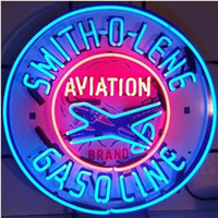 Smith-O-Lene neon signs Sign DIY Glass LED Neon Sign Flex Rope Light Indoor Outdoor Decoration RGB Voltage 110V-240V 24*20inches