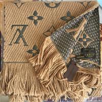 ingrosso qualità del filato-Sciarpe di cashmere di design di alta qualità, sciarpe di cachemire tinte in filo jacquard di alta qualità, sciarpe invernali da uomo e da donna di design