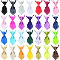 Wholesale female tie for sale - Group buy Mini Pet Tie Collars Cute Candy Colors Dog Cat Necktie Clothes Decoration Pets Harness Supplies Suit Small Puppy jh ZZ